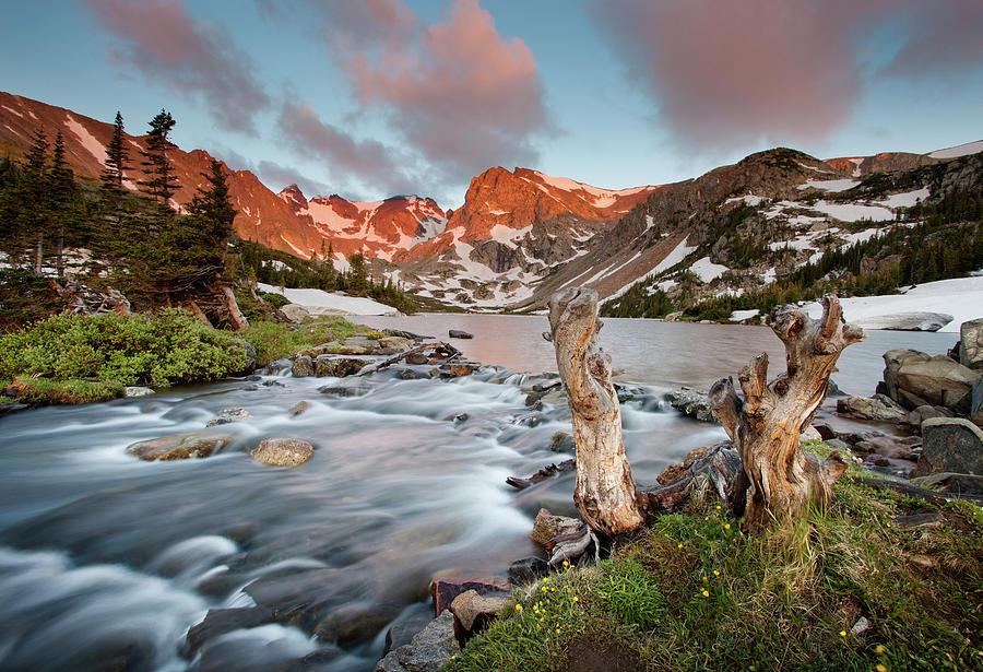 Indian Peaks Wilderness Lake Isabelle Photograph by Kjschoen