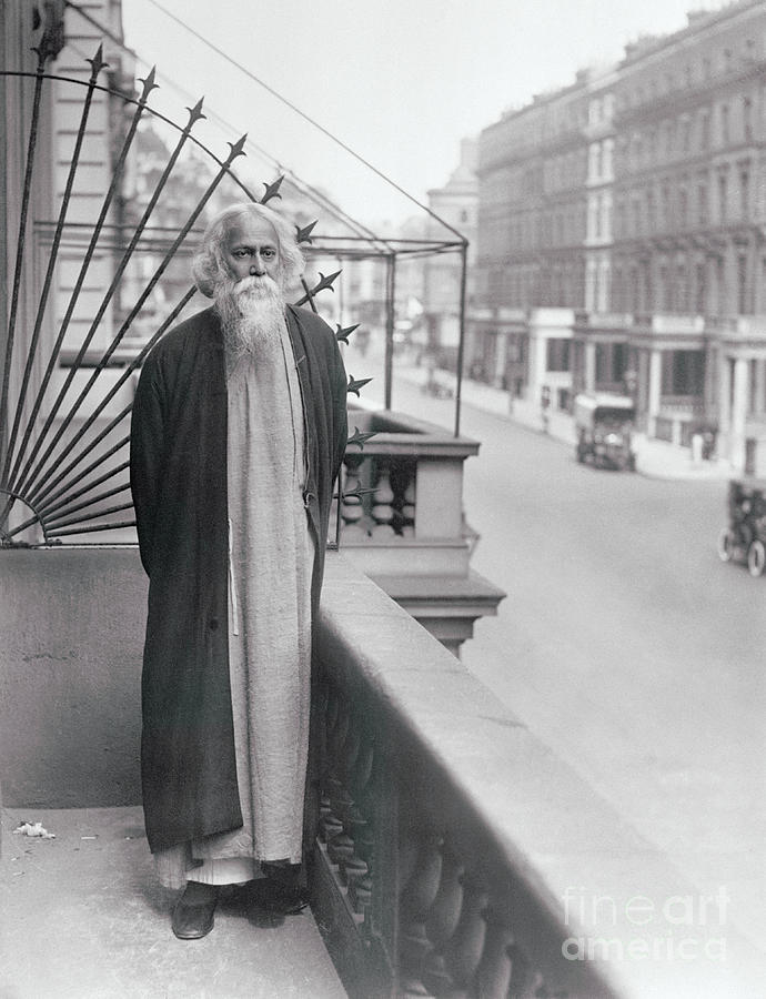Indian Poet And Divine In London Photograph by Bettmann