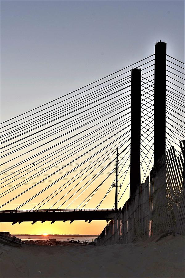 Indian River Inlet Bridge Sunset by Kim Bemis