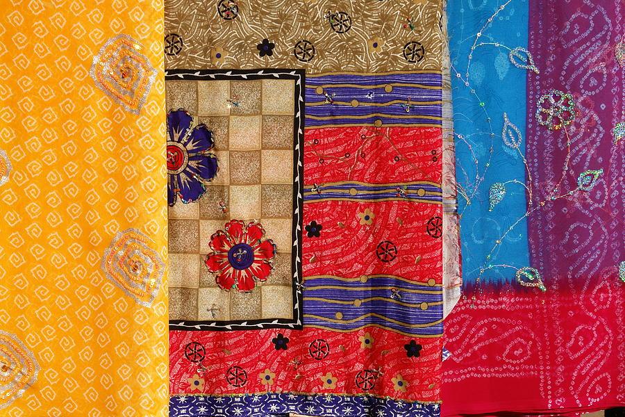 Indian Sari Photograph by Narvikk