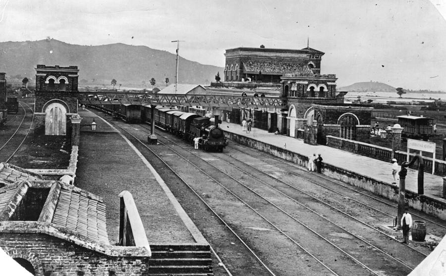Indian Station Photograph by Hulton Archive