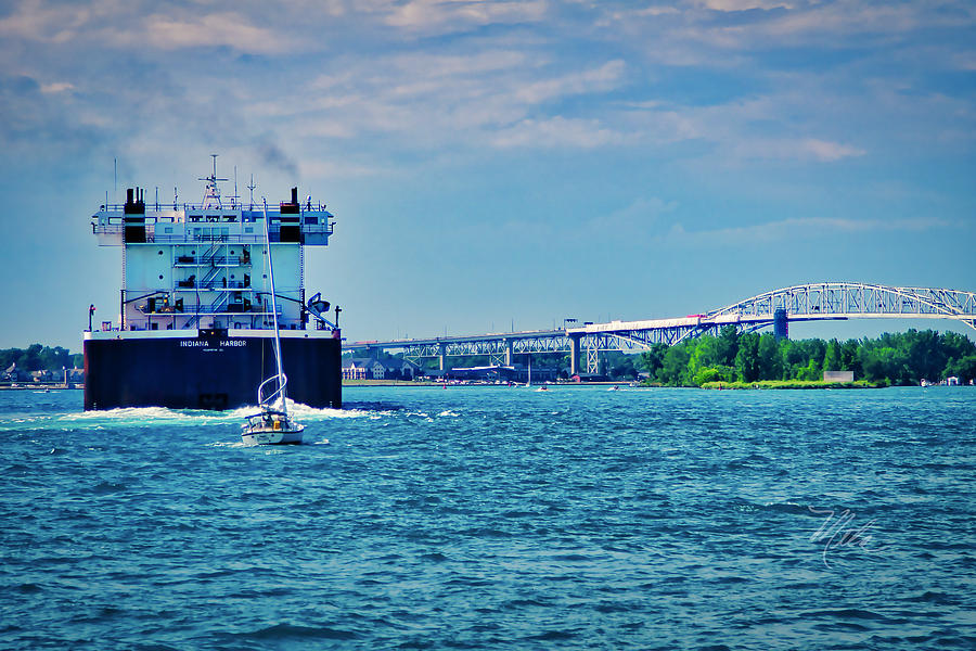 Indiana Harbor by Meta Gatschenberger
