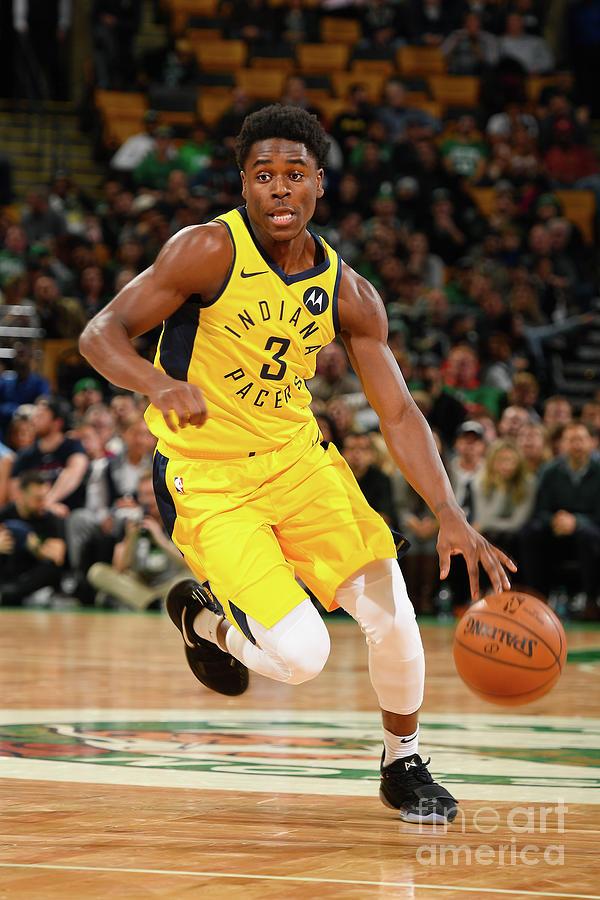 Indiana Pacers V Boston Celtics Photograph by Steve Babineau