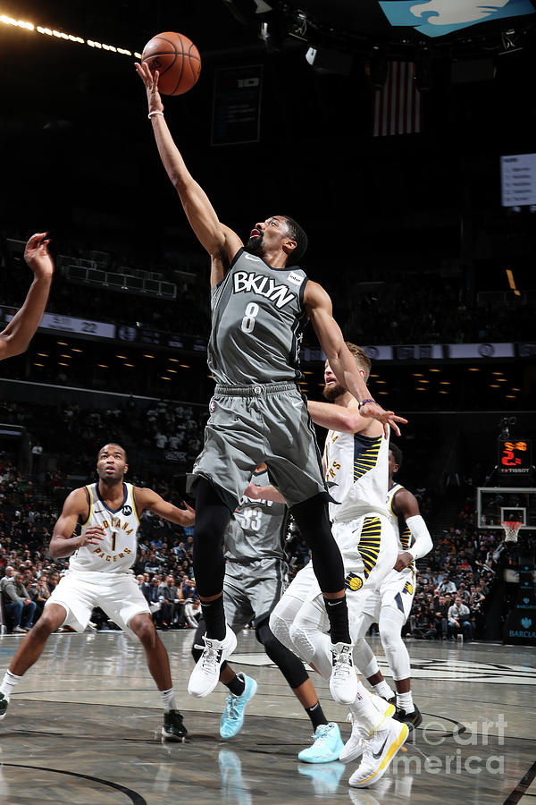 Indiana Pacers V Brooklyn Nets Photograph by Nathaniel S. Butler