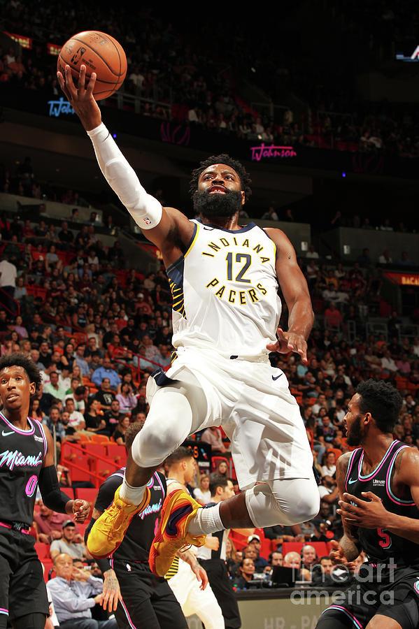 Indiana Pacers V Miami Heat Photograph by Oscar Baldizon