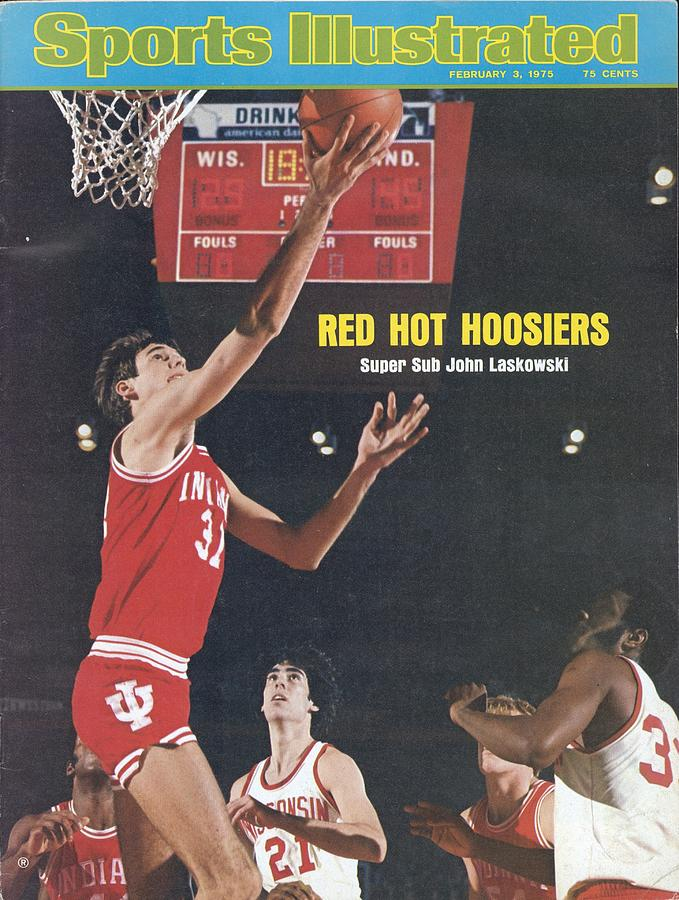 Indiana University John Laskowski Sports Illustrated Cover Photograph by Sports Illustrated