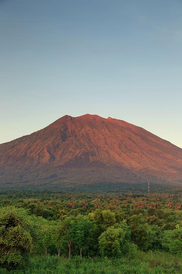 Indonesia, Bali, Gunung Agung Volcano Photograph by Michele Falzone