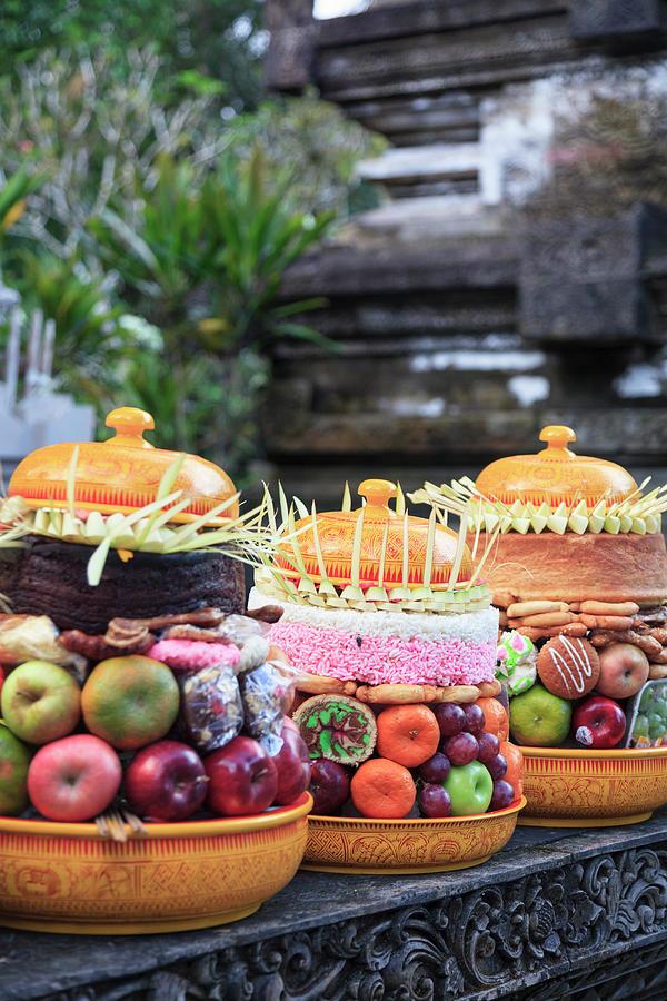 Indonesia, Bali, Tirta Empul Temple Photograph by Michele Falzone