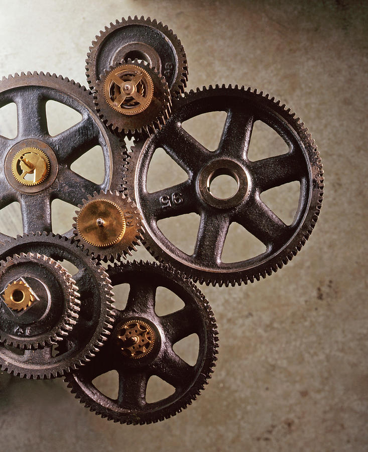 Industrial Gears Photograph by Dny59