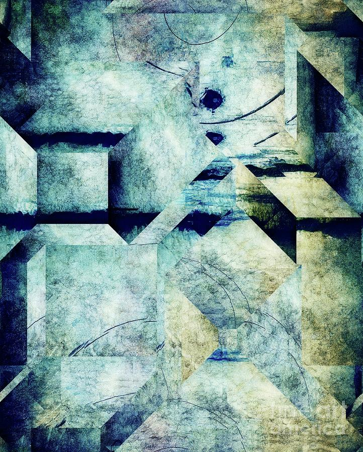Abstract Digital Art - Industriality - 03a1v3 by Variance Collections
