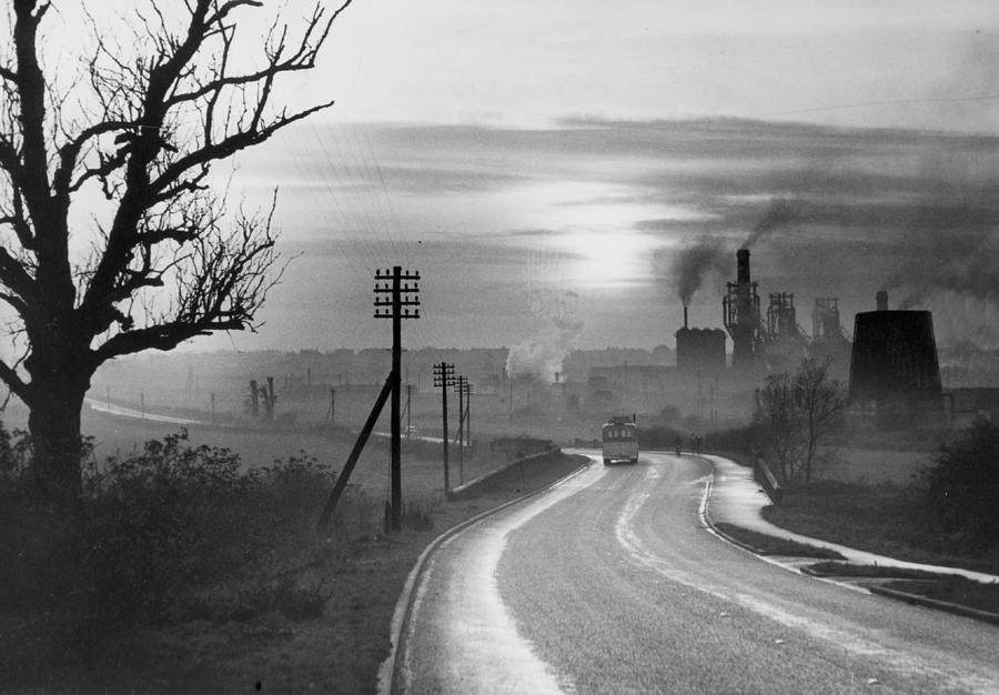 Industry. Northamptonshire, England Photograph by Popperfoto