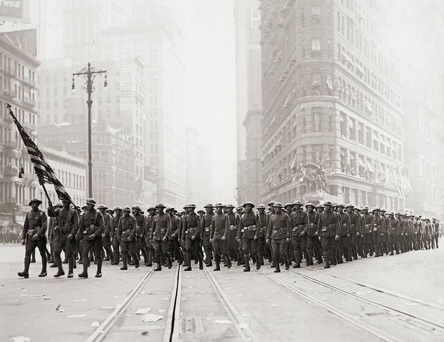 Infantry Parade Photograph by Fpg