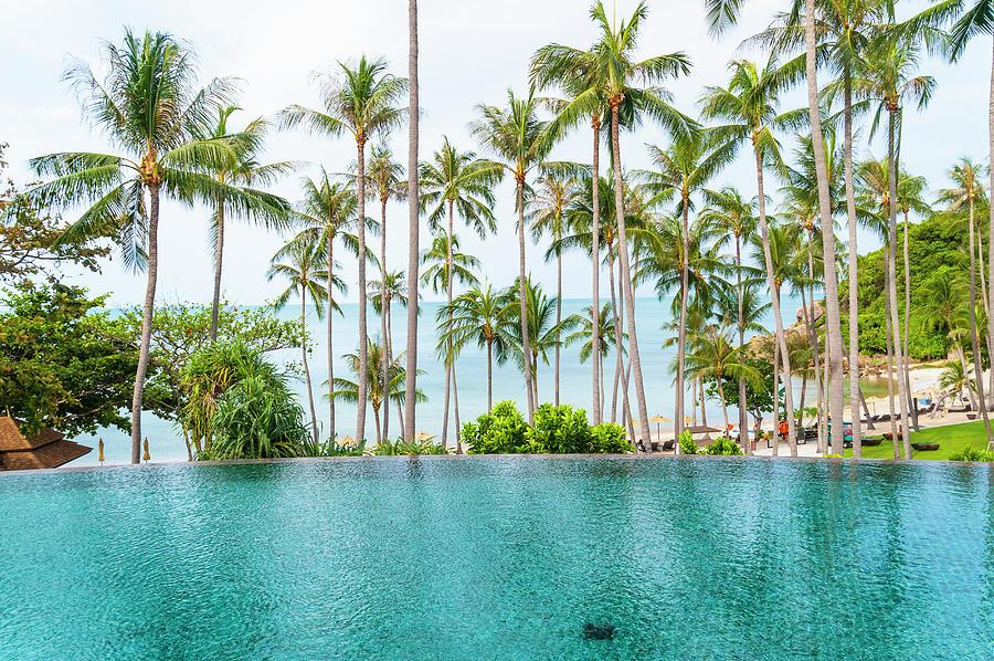 Infinity Pool, Koh Samui, Thailand Photograph by John Harper