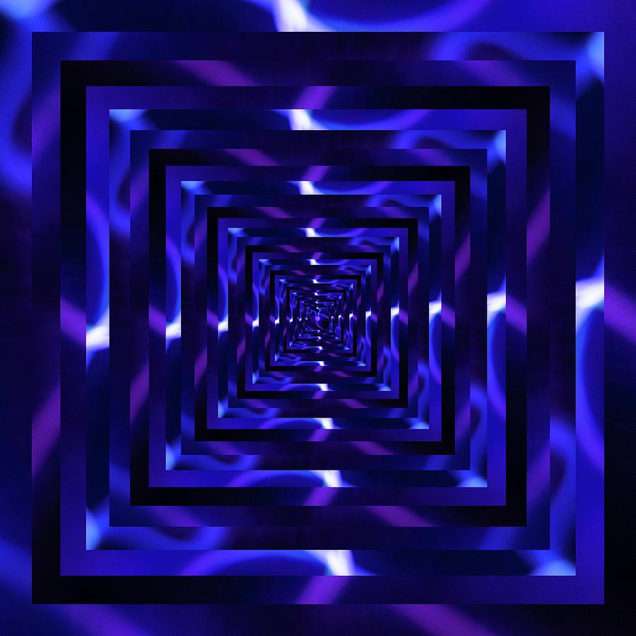 Infinity Tunnel Plasma Ball Purple by Pelo Blanco Photo