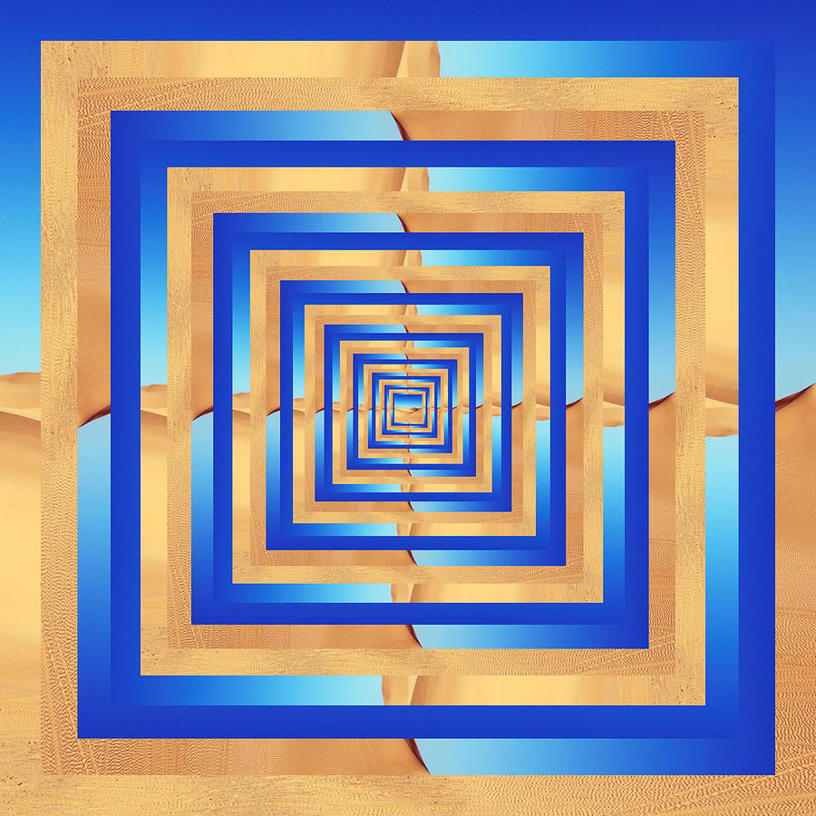 Infinity Tunnel Sand Dune by Pelo Blanco Photo