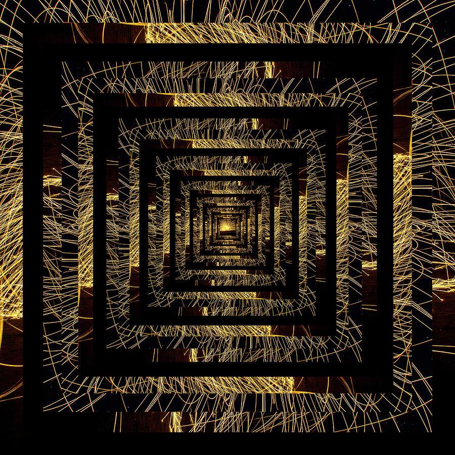 Infinity Tunnel Sparks by Pelo Blanco Photo