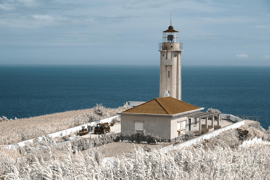 Infrared Photograph - Infrared Lighthouse by Gaspar Avila
