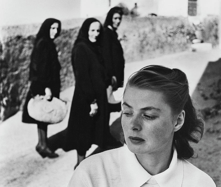 Ingrid Bergman In Italy For Stromboli Photograph by Gordon Parks