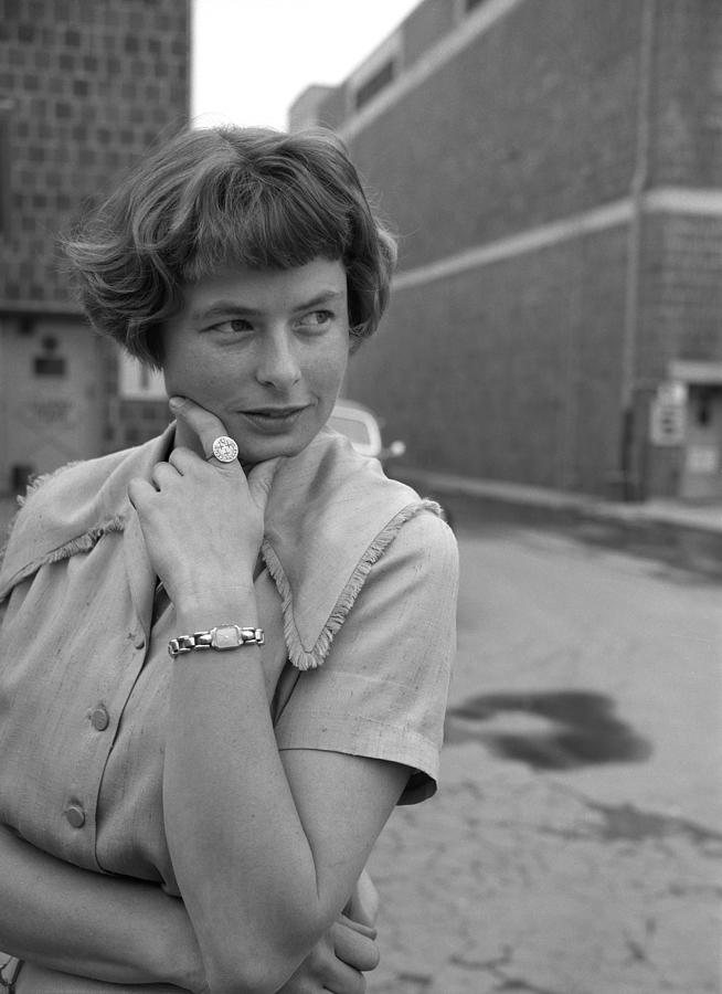 Ingrid Bergman Portrait Session Photograph by Earl Theisen Collection