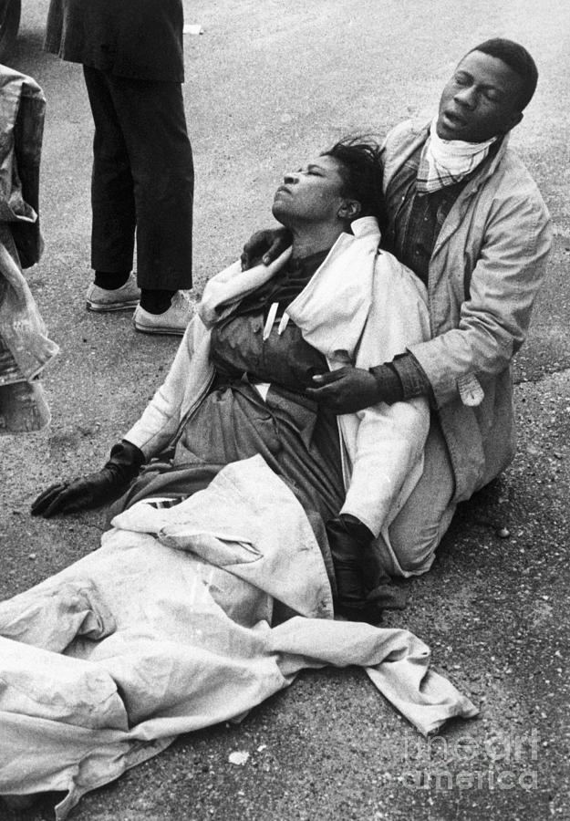 Injured Civil Rights Marchers Photograph by Bettmann