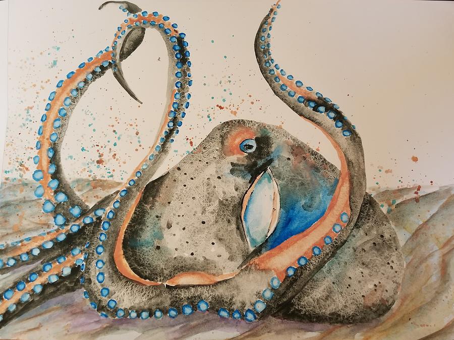Inky, the Kiwi Octopus  by Lettie Neuhauser-MacLachlan