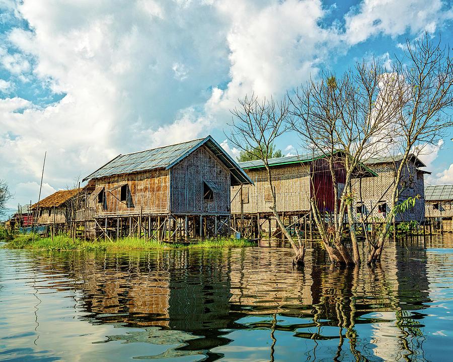 Inle Lake Village by Chris Lord