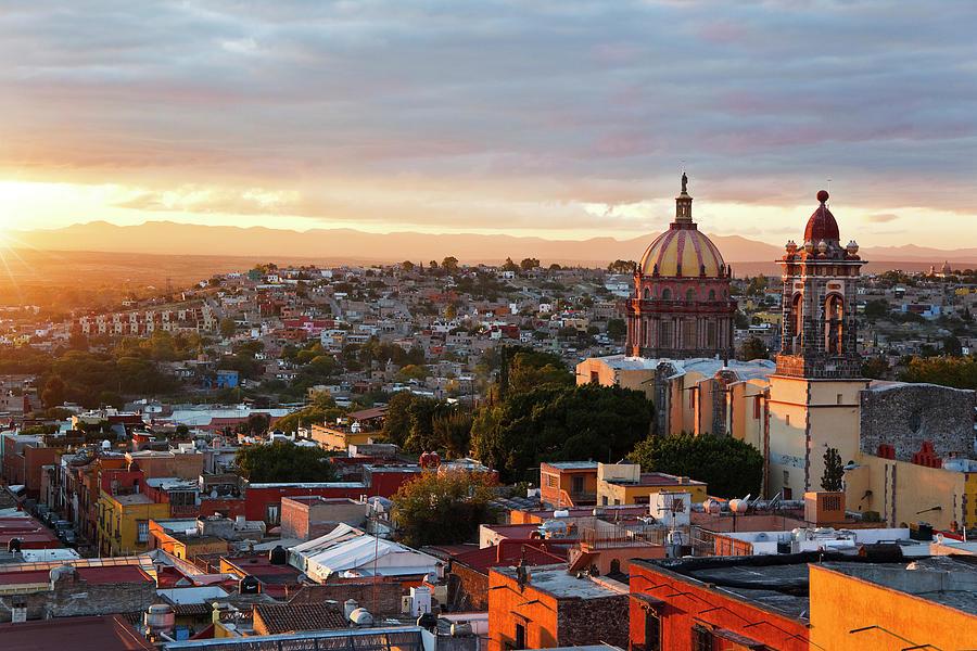 Inmaculada Concepcion Church Photograph by Luis Davilla