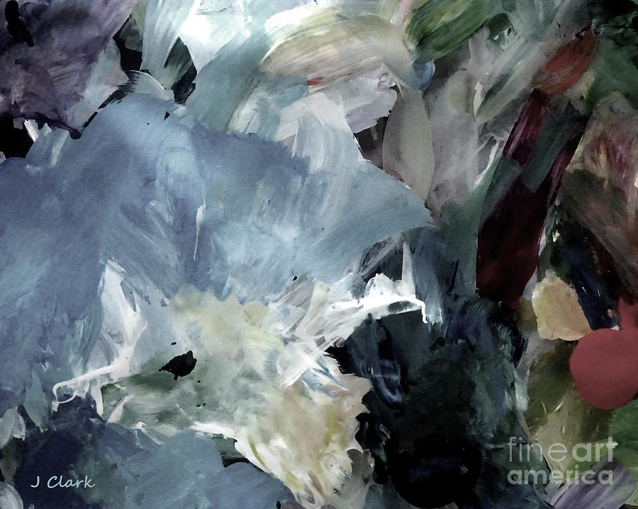Abstract Painting - Inner City by John Clark