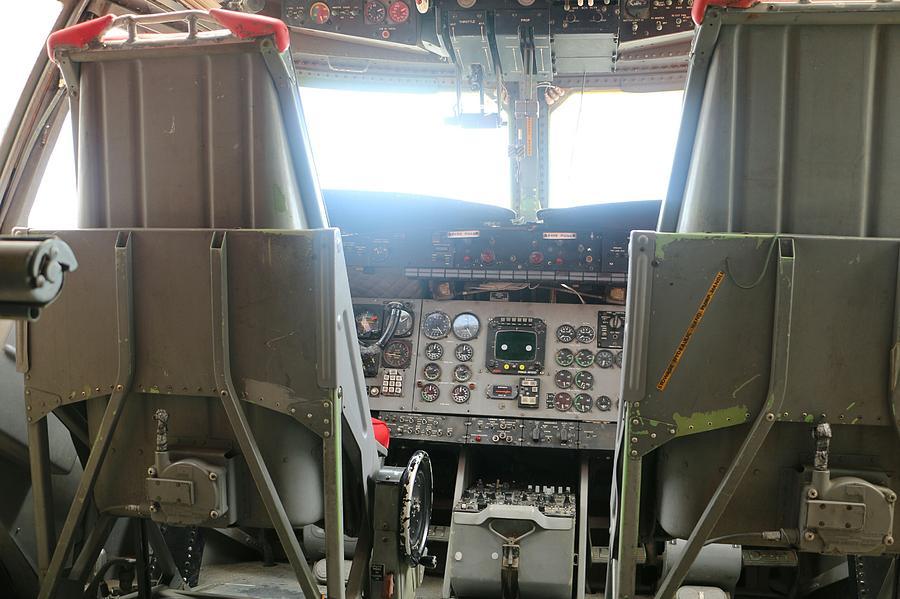 Inside an Old Aircraft by The Art Of Marilyn Ridoutt-Greene