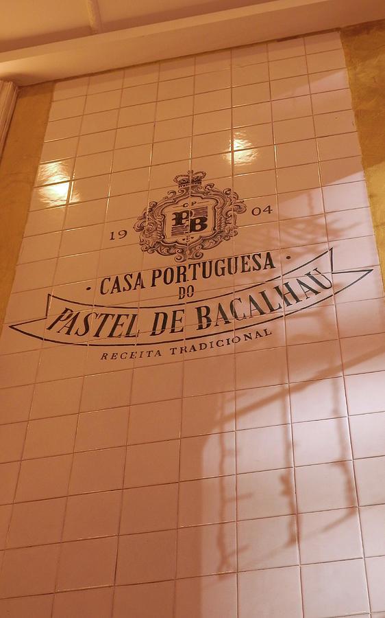 Inside Bacalhau Cafe in Lisbon by Pema Hou