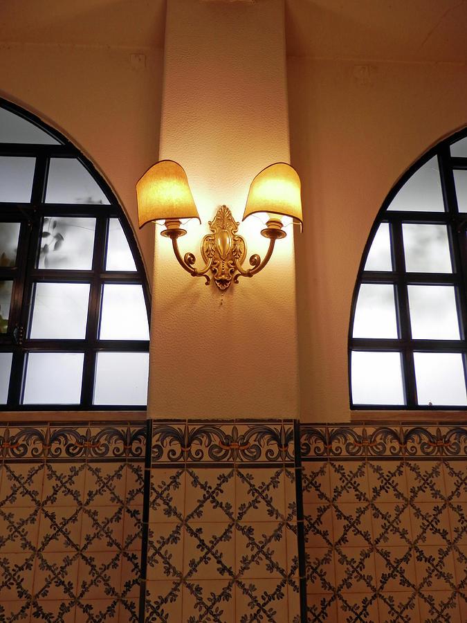 Inside Pasteis de Belem Cafe, Belem, Portugal by Pema Hou