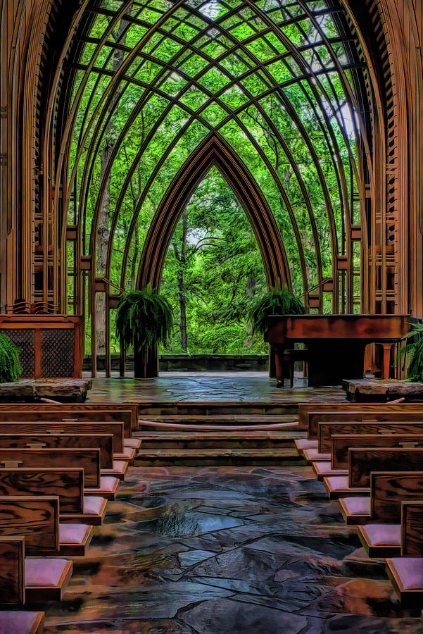 Inside the Chapel by Patricia Cale