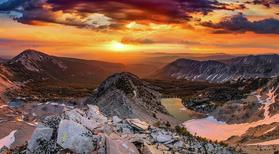 Inspiring Sunrise  by Leland D Howard