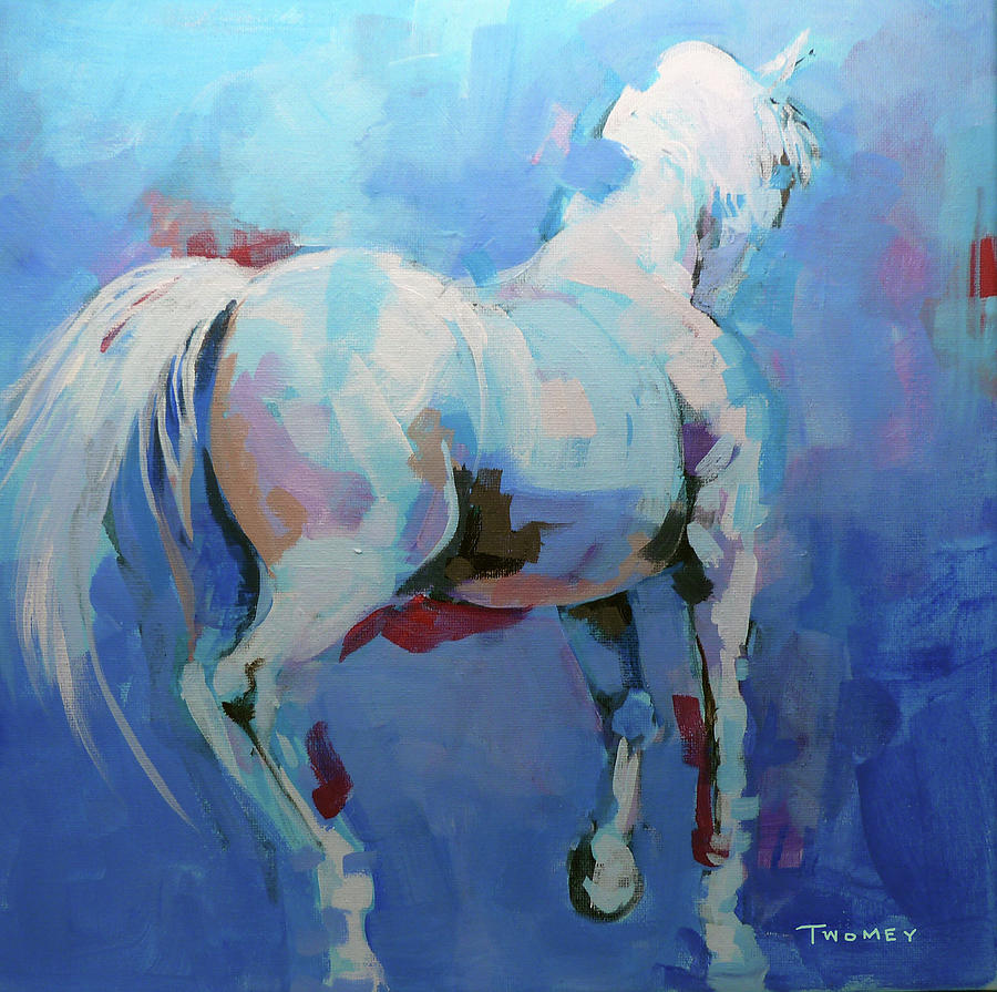 Instinctual Pirouette, The Horse's Mind by Catherine Twomey