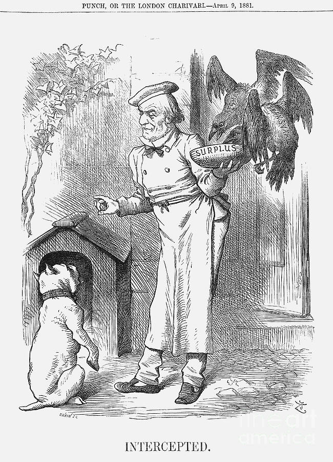 Intercepted, 1881. Artist Joseph Swain Drawing by Print Collector