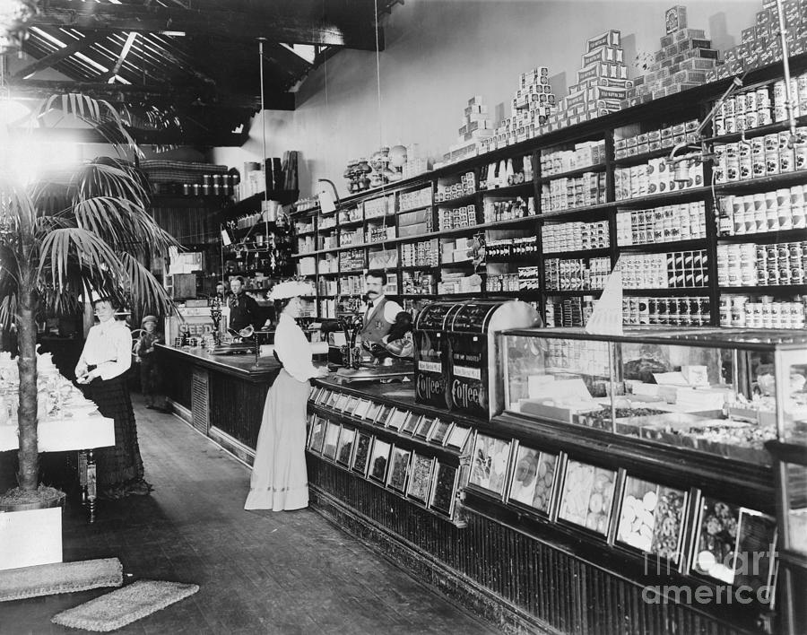 Interior Of Rural Frontier Country Store Photograph by Bettmann