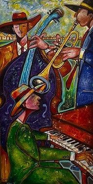 internationa blues by Emery Franklin