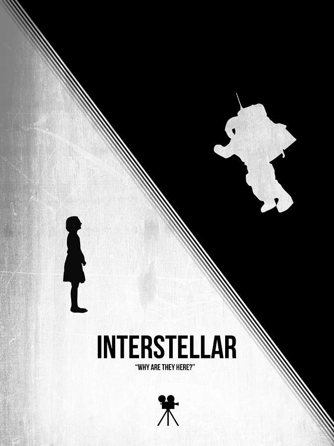 Interstellar Digital Art - Interstellar by Naxart Studio