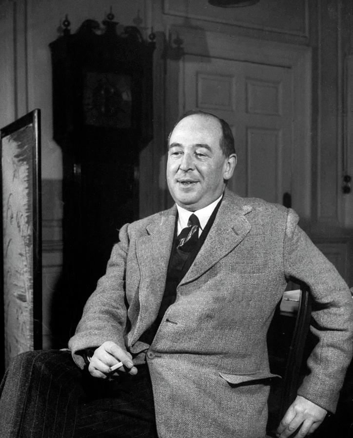 Interview With C.s. Lewis Photograph by Hans Wild