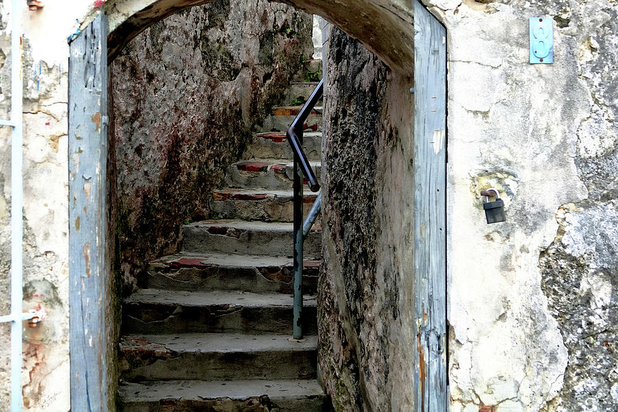 Fort Photograph - Into The Fort by Rick Lawler