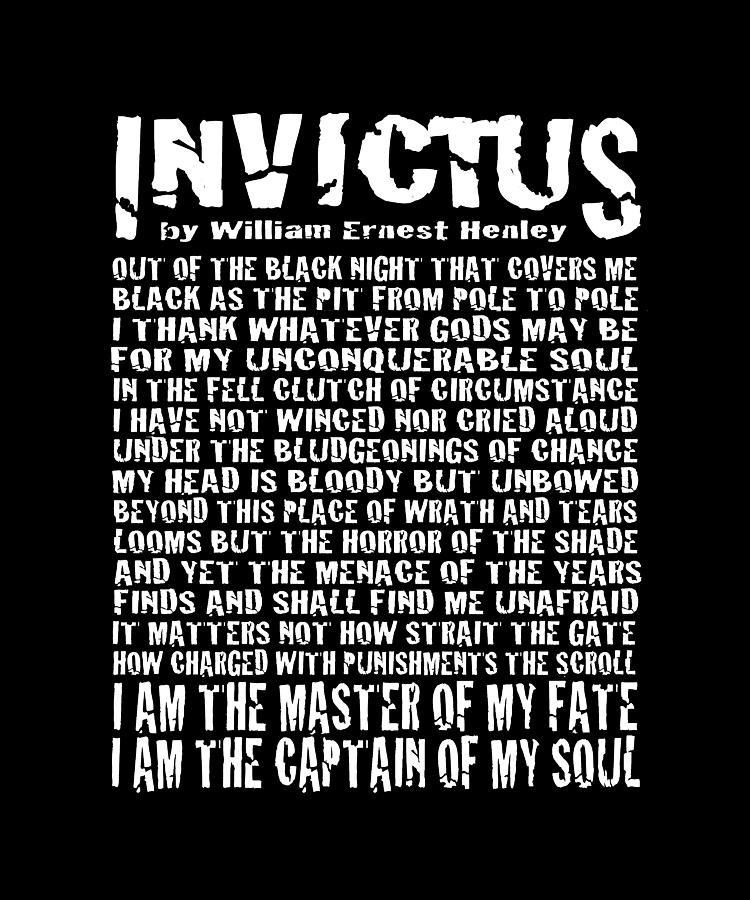Invictus Minimalist Grunge Style