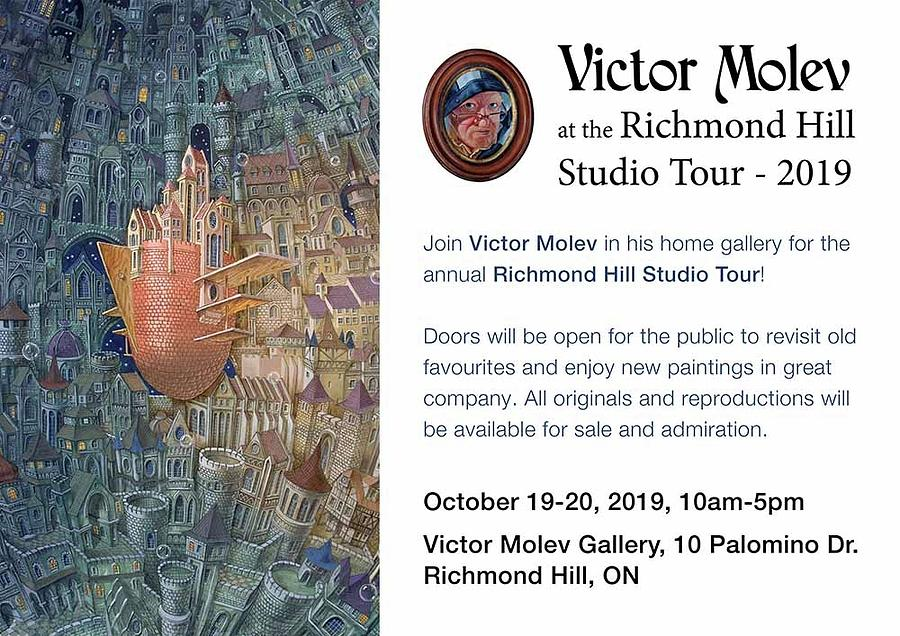 Invitation by Victor Molev