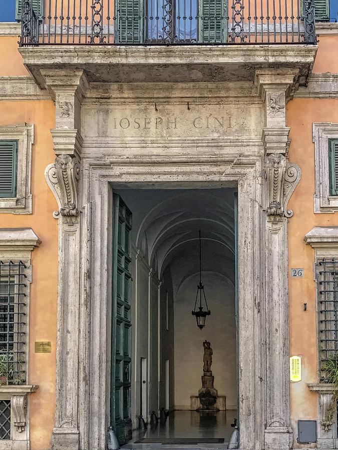Italia Photograph - Ioseph Cini Palazzo Ferrini by Joseph Yarbrough