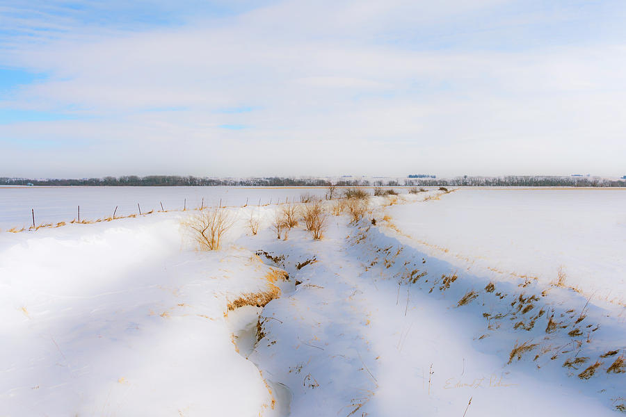 Iowa Winter Wonder Land by Edward Peterson