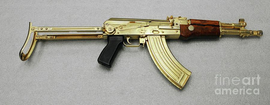 2003 Photograph - Iraqi Tabuk Assault Rifle by Granger