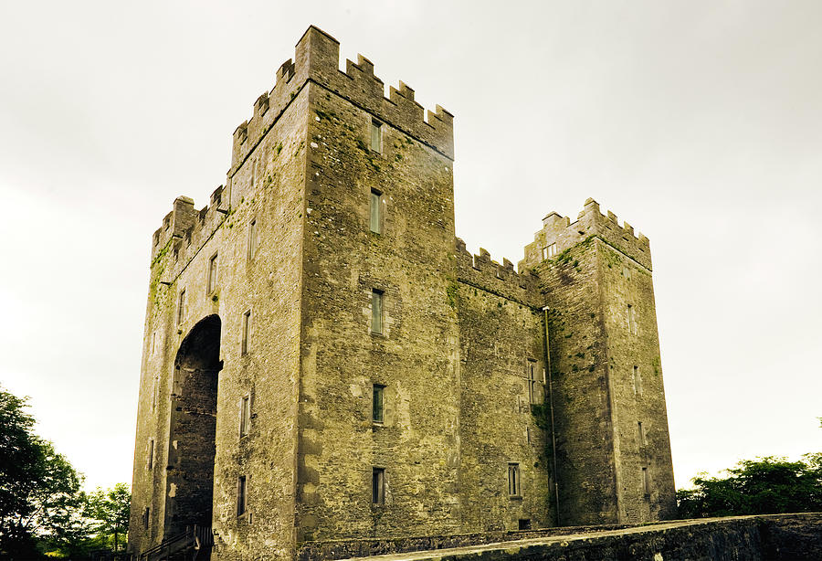 Ireland Bunratty Castle In County Photograph by Alantobey