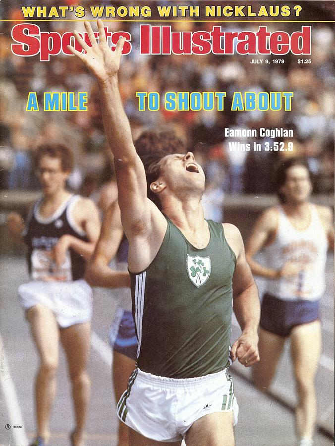 Ireland Eamonn Coghlan, 1979 Brooks Meet Of Champions Sports Illustrated Cover Photograph by Sports Illustrated