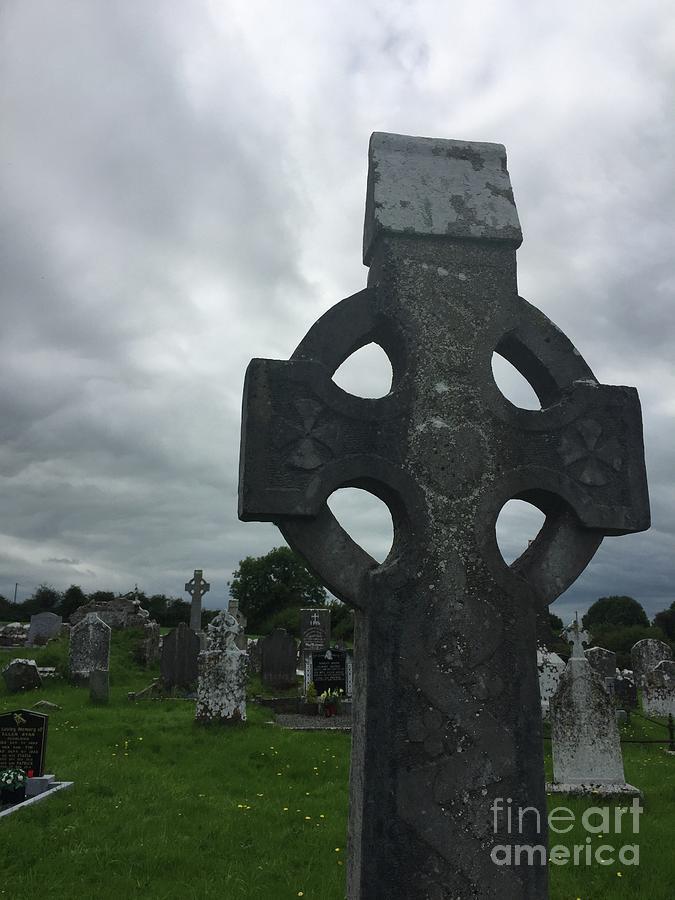 Ireland Gravestone by Suzanne Lorenz
