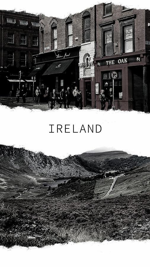 Ireland Poster 1 by Jenny Rainbow