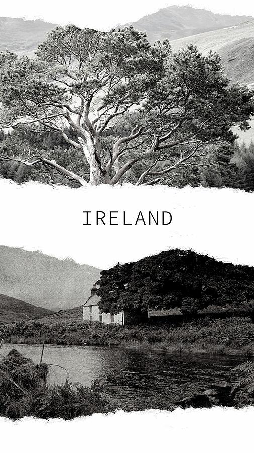 Ireland Poster 2 by Jenny Rainbow